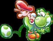 Yoshi's New Island - Yoshi & Mario Egg