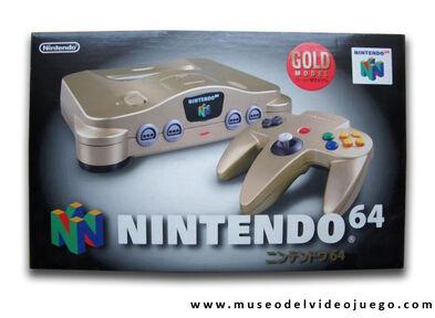 GoldNintendo64