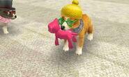 Yuri stuffed dog