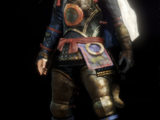 Warrior of the West Armour