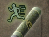 Tiger-Running Scroll