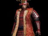 Sanada Crimson Armour