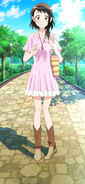 Onodera Kosaki in her pink dress