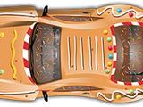 Gingerbread Racer
