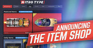 Announcing The Item Shop