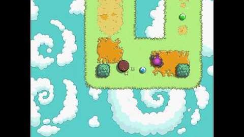 Fluffball - level 4 (all gems) keyboard