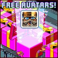 Nitrome Free Avatars advertisement (Icebreaker A Viking Voyage)