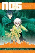 No.6 manga volume 6 cover
