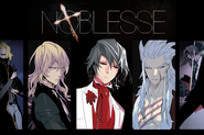 Noblesse promo slider - main characters2-5