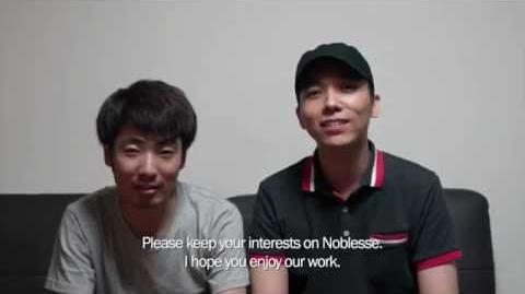 Artist Interview - Writer Jeho Son, Aritst Kwangsu Lee (Noblesse)