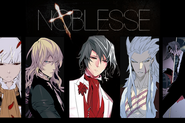 Noblesse promo slider - main characters2-4