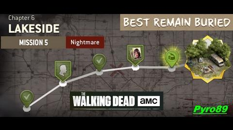 The Walking Dead NML Chapter 6 - Mission 5 (Nightmare mode)