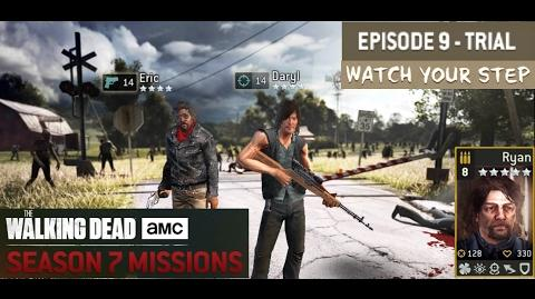 The walking dead no man's land (S07 Episode 9 trial 5 5 - Watch Your Step)