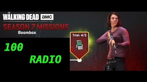 The walking dead no man's land (S07 Episode 5 - Boombox - trial 5 5) + 100 radio spins