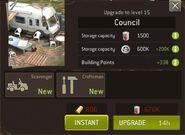 Council level 15