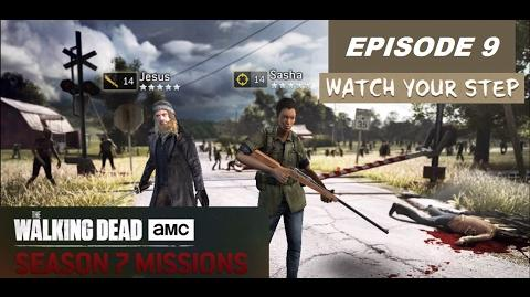 The walking dead no man's land (S07 Episode 9 - Watch Your Step)