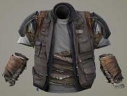 Hunter reinforced highwayman vest