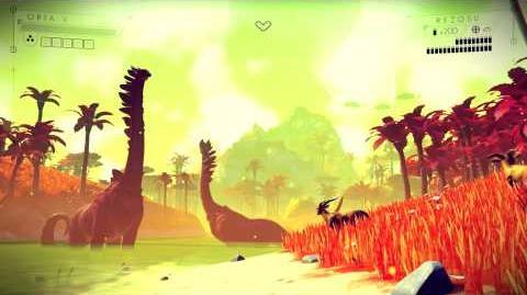 No Man's Sky gameplay E3 2014