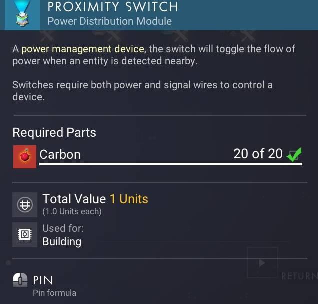 Proximity Switch No Man S Sky Wiki, Proximity Switch Wiring Nms