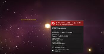 HUB4-K-199 Cold Sun
