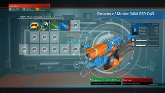 Dreams of Matter 34M-S59-O43