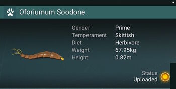 Oforiumum Soodone