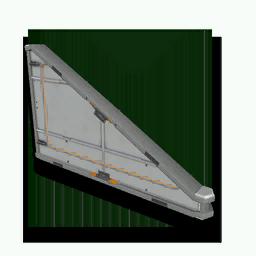 Sloping Metal Panel