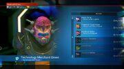 Vykeen Starship Technology Merchant Omen