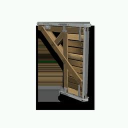 Wooden Half Arch