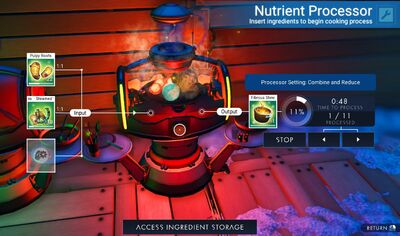 How the Nutrient Processor works