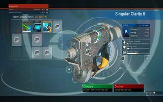 Singular Clarity III