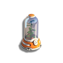Floral Canister