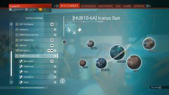 HUB10-6A Icarus Sun