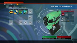 Volcanic Eykovdo Engine