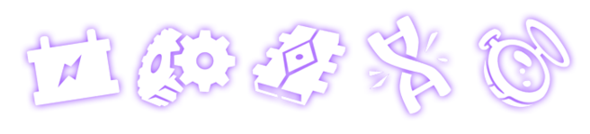 Some icons a system may use to show its type of economy