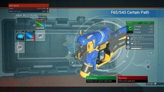 F65/S43 Certain Path