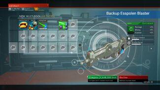 Backup Esspolen Blaster