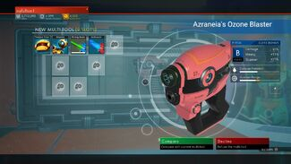 Azraneia's Ozone Blaster