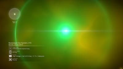 ASTRoMon near The Core as seen from below