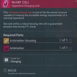 Warp Cell