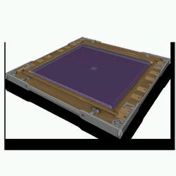 Wood-Framed Glass Panel