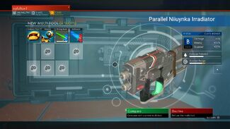 Parallel Niiuynka Irradiator