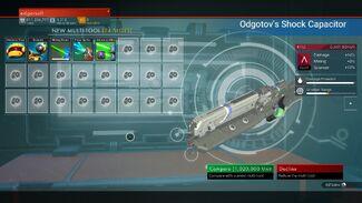 Odgotov's Shock Capacitor
