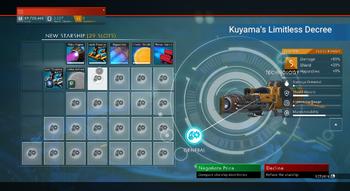 Kuyama's Limitless Decree