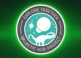 Galactic Hub Decal