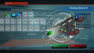Fleeting Return IX (B)