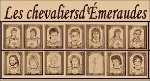 L'Ordre des Chevaliers d'Émeraude au fil des romans