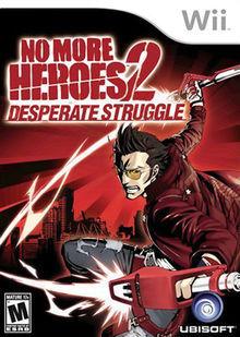 No More Heroes 2 Desperate Struggle box cover art.jpg