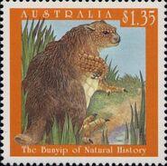 Bunyip-stamp