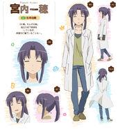 Non-Non-Biyori-Repeat-Anime-Character-Design-Kazuho-Miyauchi